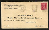 CANAL ZONE to USA cover 1932 - ANCON cancel - VF