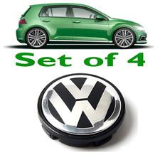 *HOT SALE* VW ALLOY WHEEL CENTRE HUB CAPS MK5 MK6 GOLF POLO SCIROCCO PASSAT 65mm