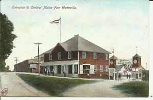 Waterville, Entrance to Central Maine Fair