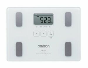 Omron body weight, body composition meter body scan White HBF-212