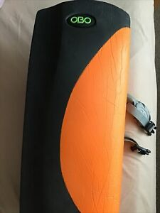 OBO High Rebound Orange & Black RIGHT Leg Guard (Used) Size Large