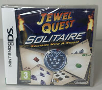 JEWEL QUEST SOLITAIRE - SOLITAIRE WITH A TWIST - NINTENDO DS - NEW/SEALED