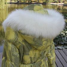 Women Lady Faux Fur Collar Scarf Shawl Winter Warm Thick Stylish Multi-color