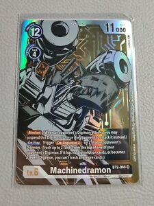 Machinedramon Dash Pack Alt Art   NM/M   BT2-066 SR   Digimon Card Game