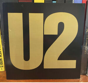 U2 Joshua Tree 1987 2-Sided Record Store Promo Album Flat