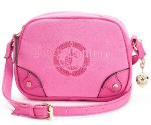 NEW Juicy Couture Women's Crossbody bag Namesake Mini pink color