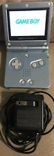 Nintendo GameBoy Advance SP Blue Handheld System AGS-101 Brighter Screen