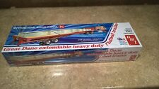 1:25 Amt Great Dane Extendable Flatbed Semi Trailer Plastic Model Kit *New*