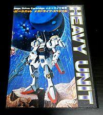 Sega Mega Drive/Genesis Heavy Unit SHMUP 2D-Shooter JAPAN NTSC