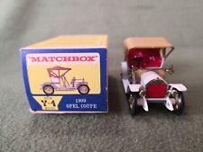 MATCHBOX Y4 OPEL 1909 SCALA 1/43 VINTAGE TOYS