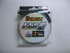 NEW Seaguar FXR Boat 100m 12lb #3 Clear 0.285mm Fluorocarbon Leader Line Japan
