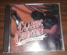 Classic Country 1960-1964 (CD, 2-Disc Set) Various Artists