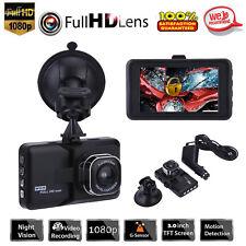 3'' Full HD Auto DVR Dashcam Kamera KFZ Camcorder Video TF Recorder Nachtsicht