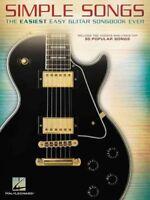 Simple Songs : The Easiest Easy Guitar Songbook Ever, Paperback by Hal Leonar...
