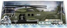 ToiToys Army Kampfhubschrauber Militär mit Friktion Military Hubschrauber NEU