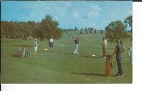 AY-087 - Golfing, 1950's-1960's Advertising Sales Sample Postcard