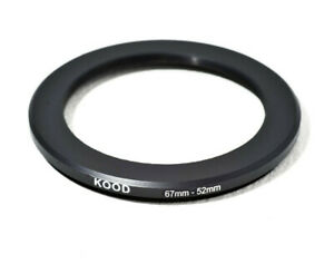 Stepping Ring 67-52mm 67mm to 52mm Step Down ring stepping Rings 67mm-52mm