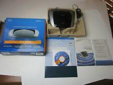 Cisco Linksys WRT320N Dual-band Wireless N Gigabit Router  + power cord + cd +