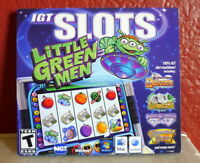 IGT Slots Little Green Men Collection IGT Slot Machine Computer Games NEW Mac PC