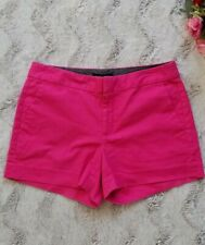 Banana Republic Hampton Fit Pink Cotton Blend Shorts Size 6