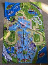 Disneyland Disney World Theme Parks Play Mat 6917 Hasbro 2003 Retired