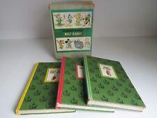 1965 Vintage The wonderful worlds of Walt Disney 3 book collection set