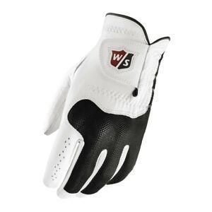 3 Wilson 2020 Conform Leather Golf Gloves Cadet Large L worn on LH