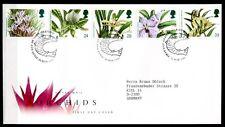 Orchideen. FDC-Brief. Großbritannien 1993