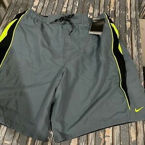 Nike Board Shorts Water Repellent Pockets Mens Size XL NEW