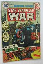 Star Spangled War Stories #182 (DC 6/74) FN-/FN Joe Kubert-c/a. Nice!!