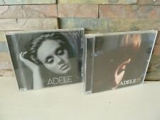 ADELE 19 & 21 CD ALBUMS. FAST.FREE POSTING.