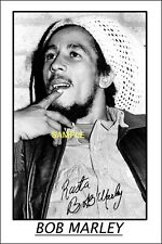 4x6 SIGNED AUTOGRAPH PHOTO REPRINT of BOB MARLEY #7