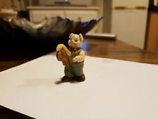 J.C 1991 Pig with horse toy collectable figure