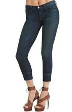 J Brand COLETTE Skinny Medium Wash 'Murphy' Sz 26 Jean Crop $180 stretch