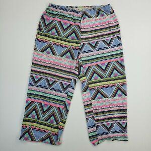 Bobbie Brooks Leggings Sleepwear Workout Relaxed Pants Abstract Hippie Yoga