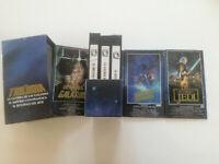 STAR WARS La Trilogia SPAIN 3X VHS BOX SET 1990 EX Guerra De Las Galxias