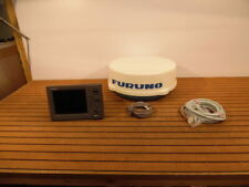 """Furuno Navnet VX1 1833C 4kw 24"""" Dome Radar System + Cables - Fully Tested"""