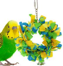 810 Bonka Bird Toys Small Bowtie Ring parrot cage toy parakeet cockatiel budgie