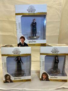 Harry Potter Wizarding World Figurines 3 Piece Super Bundle. 20CM Box