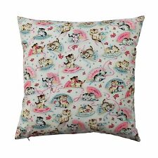 Smitten Kitten Cushion Pillow Cover - Rock Your Baby fabric Vintage inspired