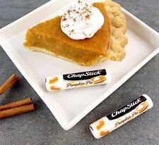 NEW Chapstick Lip Balm - Pumpkin Pie - USA Made Limited Edition Flavour