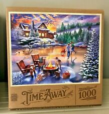 Time Away - Evening Skate - 1000 Pcs - Jigsaw Puzzle