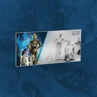 Niue - Star Wars: A New Hope - R2-D2™ & C-3PO - 1 $ 2018 BU - Silber - Banknote