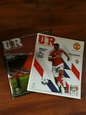 Manchester United v CSKA moscow   Club  Brugge Programme Champions league