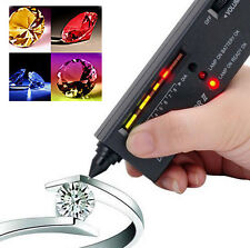 Diamond Moissanite Tester Selector LED Indicator Jewelry Gemstone Detector Tool