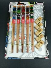 Souvenir Collectible children's chopstick set with rests ~ Beijing 2008 Olympics