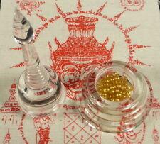 RELICS OF ANANDA BUDDHA DISCIPLE SARIRA GOLD PEARLS PHRA TATH LARGE RELIC STUPA