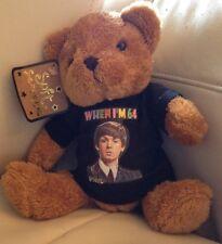 When I'm 64 (black t shirt) TEDDY BEAR 64th Birthday PAUL McCARTNEY