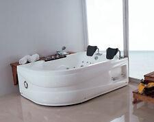 Whirlpool, für 2 Personen, Badewanne, Whirlwanne, Eckwanne, Dampfdusche