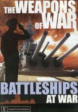 The Weapons of War Battleships at War DVD New and Sealed
